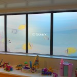 Glass Design Film In Childrens Ward